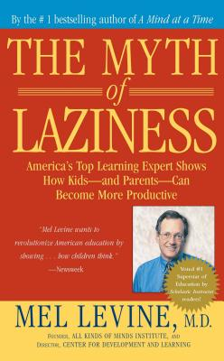 The Myth of Laziness Cover