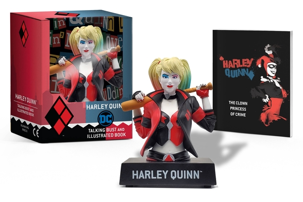 Harley Quinn Talking Figure and Illustrated Book (RP Minis) Cover Image