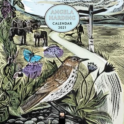 Angela Harding Wall Calendar 2021 (Art Calendar) Cover Image