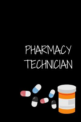 Pharmacy Technician: Notebook Cover Image