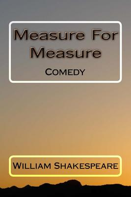 Measure for Measure: Comedy Cover Image