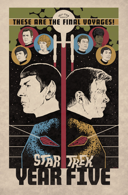 Star Trek: Year Five - Odyssey's End (Book 1) Cover Image