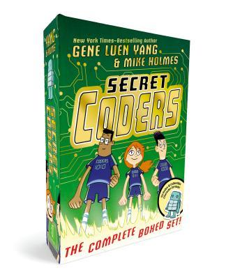 Secret Coders: The Complete Boxed Set: (Secret Coders, Paths & Portals, Secrets & Sequences, Robots & Repeats, Potions & Parameters, Monsters & Modules) Cover Image