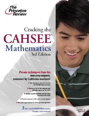 Cracking the CAHSEE Cover