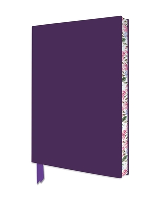 Purple Artisan Notebook (Flame Tree Journals) (Artisan Notebooks) Cover Image