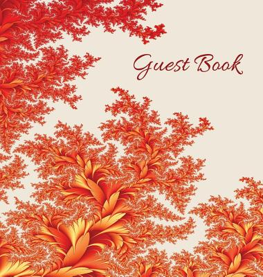 GUEST BOOK (Hardback), Visitors Book, Comments Book, Guest Comments Book, House Guest Book, Party Guest Book, Vacation Home Guest Book: For events, fu Cover Image