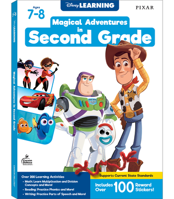 Disney/Pixar Magical Adventures in Second Grade Cover Image