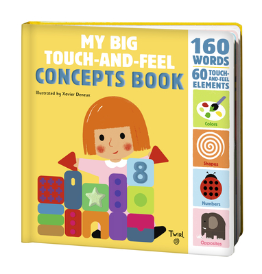 My Big Touch-and-Feel Concepts Book (Touch-and-Feel Books #2) Cover Image