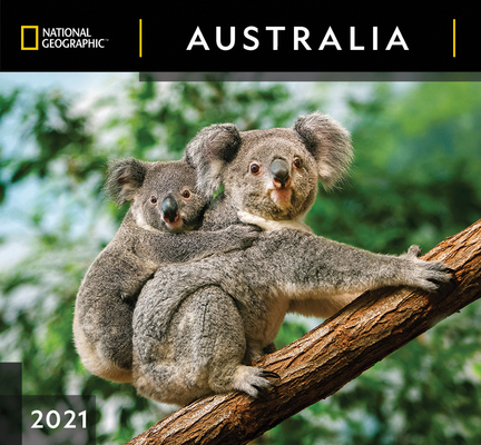 Cal 2021- National Geographic Australia Wall Cover Image