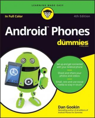 Android Phones for Dummies (For Dummies (Lifestyle)) Cover Image