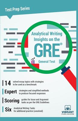 Analytical Writing Insights on the GRE General Test (Test Prep #14) Cover Image