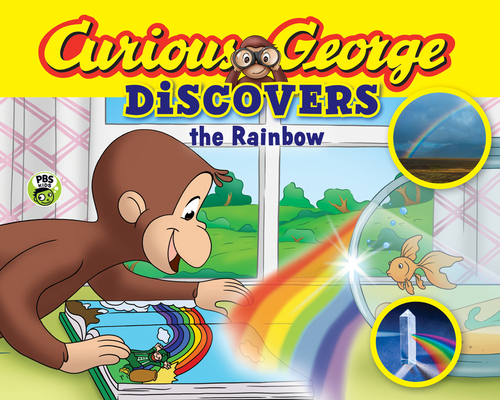 Curious George Discovers the Rainbow (Science Storybook) Cover Image