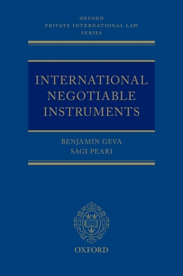 International Negotiable Instruments Cover Image