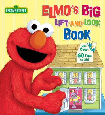 Elmo's Big Lift-And-Look Book (Sesame Street) Cover