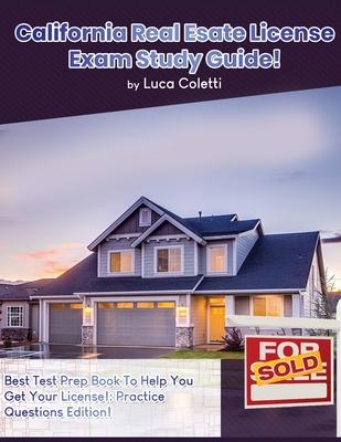 California Real Estate License Exam Study Guide Cover Image