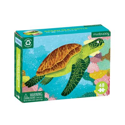 Puz 48 Mini Green Sea Turtle Cover Image