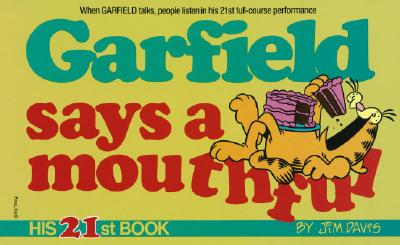Garfield Says a Mouthful Cover Image