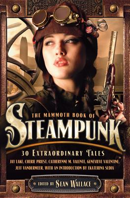 The Mammoth Book of Steampunk Cover