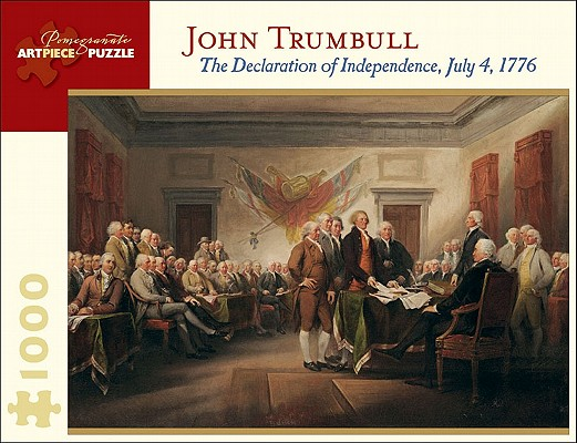 John Trumbull: The Declaration of Independence, July 4, 1776 1000 Piece Jigsaw Puzzle (Pomegranate Artpiece Puzzle) Cover Image