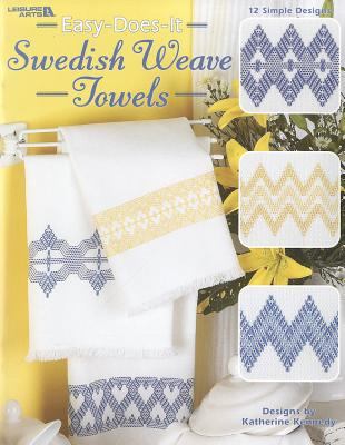 Easy-Does-It Sweedish Weave Towels Cover