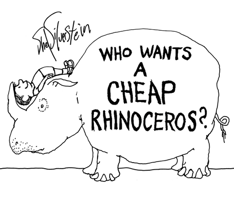 Who Wants a Cheap Rhinoceros? Cover Image