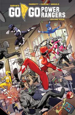 Saban's Go Go Power Rangers Vol. 4  (Mighty Morphin Power Rangers #4) Cover Image