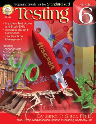Preparing Students for Standardized Testing, Grade 6 Cover Image