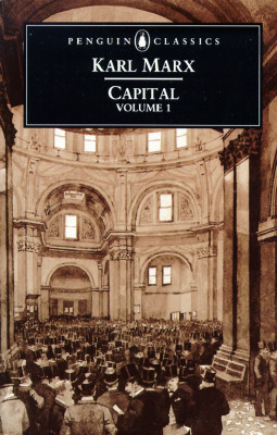 Capital: Volume 1: A Critique of Political Economy Cover Image