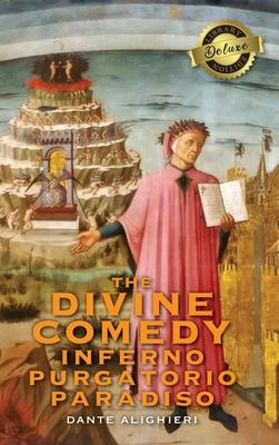 The Divine Comedy: Inferno, Purgatorio, Paradiso (Deluxe Library Binding) Cover Image