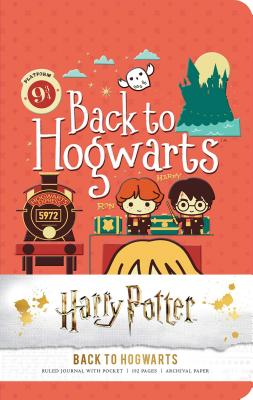 Harry Potter: Back to Hogwarts Ruled Pocket Journal Cover Image