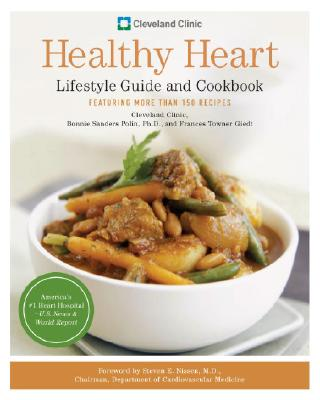 Cleveland Clinic Healthy Heart Lifestyle Guide and Cookbook Cover