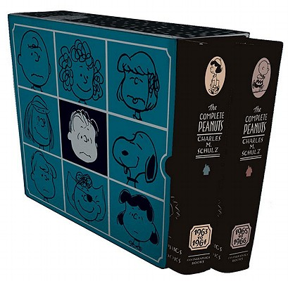 The Complete Peanuts 1963-1966 Cover