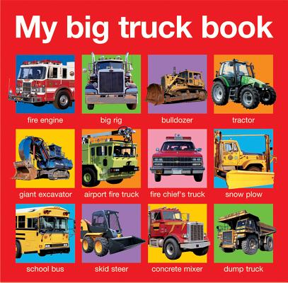 My Big Truck Book Cover Image