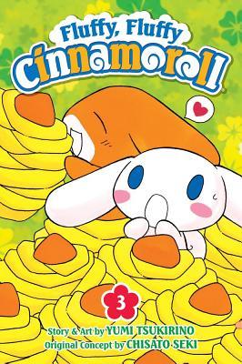 Fluffy, Fluffy Cinnamoroll, Vol. 3 Cover