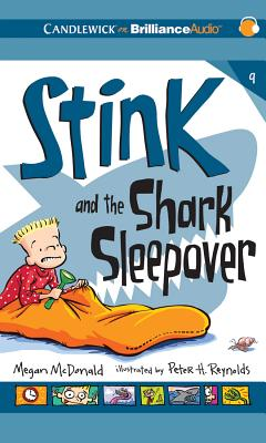 Cover for Stink and the Shark Sleepover (Stink (Audio) #9)