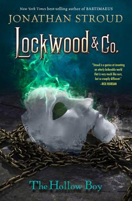 Lockwood & Co. Book Three the Hollow Boy Cover