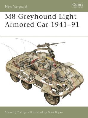 M8 Greyhound Light Armored Car 1941-91 Cover
