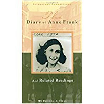 The Diary of Anne Frank: And Related Readings (Literature Connections) Cover Image