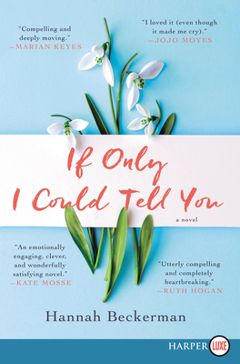 If Only I Could Tell You: A Novel Cover Image