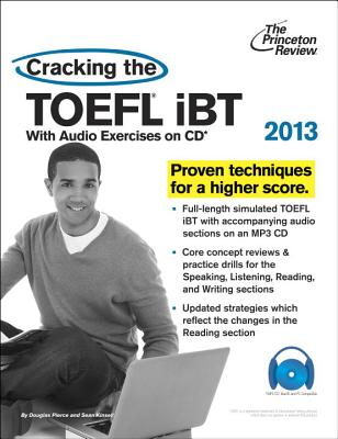 Cracking the TOEFL iBT with CD, 2013 Edition Cover