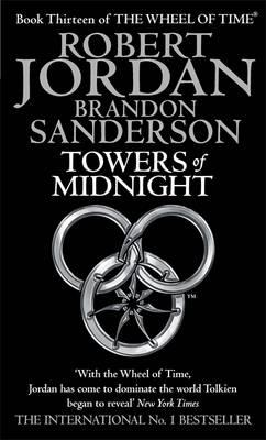 Towers of Midnight. Robert Jordan and Brandon Sanderson Cover Image