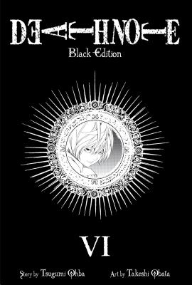 Death Note Black Edition, Volume 6 Cover