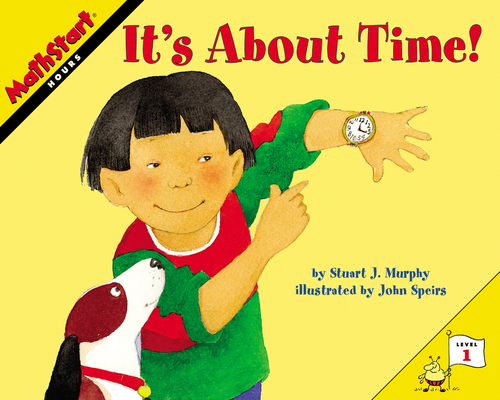 It's About Time! (MathStart 1) Cover Image