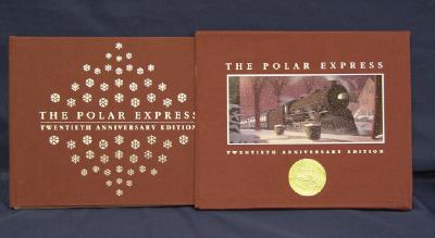The Polar Express Twentieth Anniversary Edition Cover