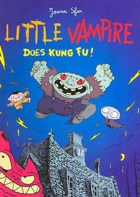 Little Vampire Does Kung Fu! Cover