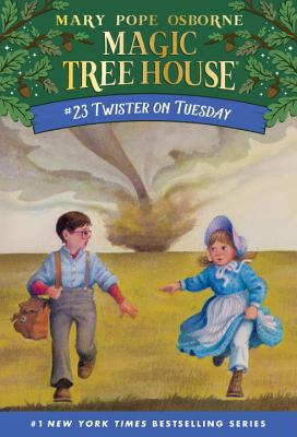 Twister on Tuesday (Magic Tree House (R) #23) Cover Image