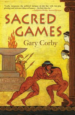 Cover for Sacred Games (An Athenian Mystery #3)