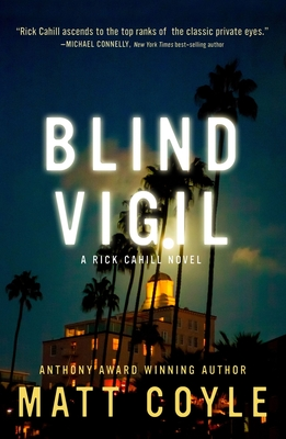 Cover for Blind Vigil (The Rick Cahill Series #7)