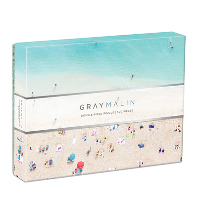 Gray Malin Hawaii Beach 2-Sided 500 Piece Puzzle Cover Image