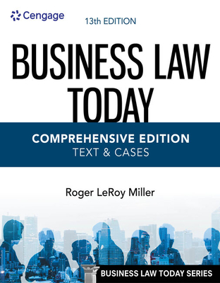 Business Law Today, Comprehensive Cover Image